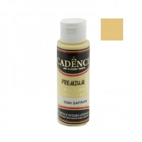 Pintura Acrílica Premium SAFFRON Cadence 70ml