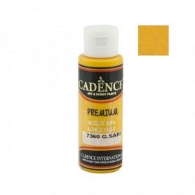 Pintura Acrílica Premium SUN YELLOW Cadence 70ml