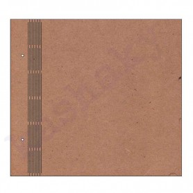 ÁLBUM LISO LOMO ACORDEÓN 25x22 cm