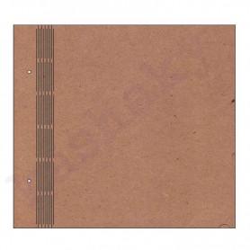 ÁLBUM LISO LOMO ACORDEÓN 35x32 cm