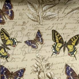 2 Papeles ROSSI Botanic&Butterflies 50x70
