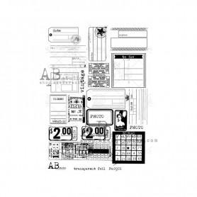 Foil Transparente AB STUDIO 002