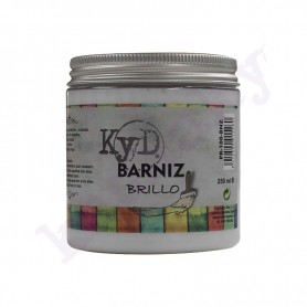 Barniz Al Agua Brillante KyD 250ml