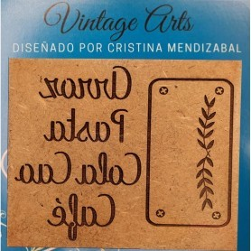 Molde Vintage Art DOBLE ARROZ, PASTA