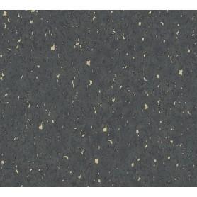 Rollo Papel Empapelar Ben Estucado Negro Dorado (10,05x0,53m)