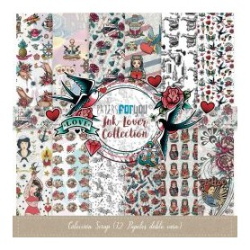Colección Papers for You INK LOVER Scrapbooking