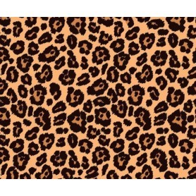 Tela 100% algodon Estampado Skin Tigre. Anchura 1,10 cm.  Cada 10 cm