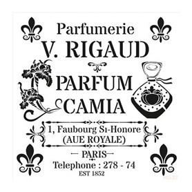 Plantilla Stencil Cadence Home Decor Midi Parfumerie 25x25cm