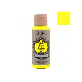 Pintura Textil Fluorescente Cadence Amarillo 59ml