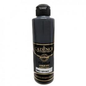 Pintura Acrílica Premium BLACK Cadence 250ml