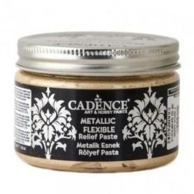 Pasta Cadence Flexible Metalica Champagne 150ml