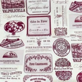 2 Papeles ROSSI Wine Labels 70x100cm