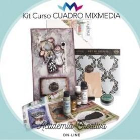 Kit Cadence Cuadro Mix Media ACADEMIA CREATIVA