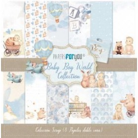 Colección Baby Boy World papers for you 30,5x30,5cm
