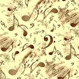 Papel Kartos Musical Oro 50x69cm