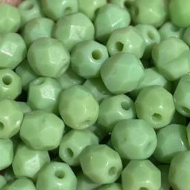 Facetada Checa Verde Mate 6mm.