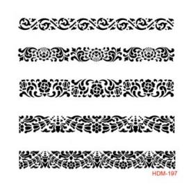 Plantilla Stencil Filigrana Cadence 25x25Cm