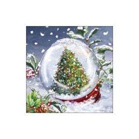 Servilleta impresa Noël de Servietten Wimmel