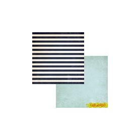 Down By The Shore Striped Towel (Papel 30,5 x 30,5 cm 2 Caras)