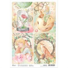 Papel de Arroz A4 Rice Paper A4 The Little Prince Cards 21x29,7 cm