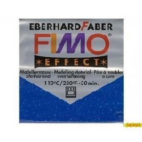 FIMO EFFECT AZUL GLITTER N 302