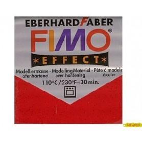 FIMO EFFECT ROJO GLITTER N 202