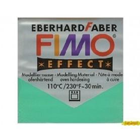 FIMO EFFECT VERDE TRANSPARENTE N 504