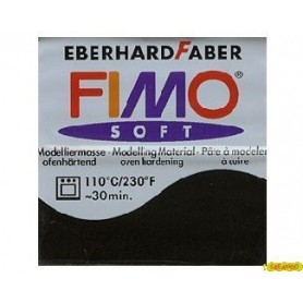 FIMO SOFT NEGRO N 9