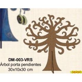 ARBOL PARA PENDIENTES DM PARA DECORAR 30x10x30CM