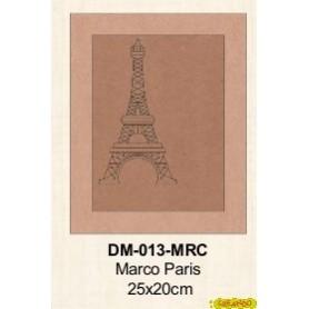 MARCO GRABADO PARIS 25x20CM