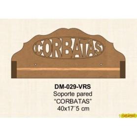SOPORTE DM PARED CORBATAS 40x17´5CM