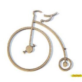 Silueta Bicicleta Antigua 5,1x4,5CM