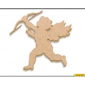 Silueta Cupido  5x4,8  cm