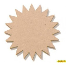 Silueta Festoneado  4,5x4,5  cm