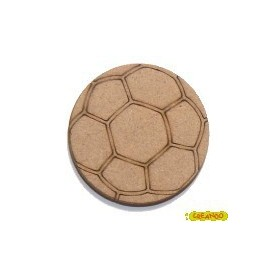 Silueta Pelota De Futbol 4,3x4,3cm