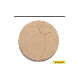 Silueta Pelota de Playa 4,3x4,3cm
