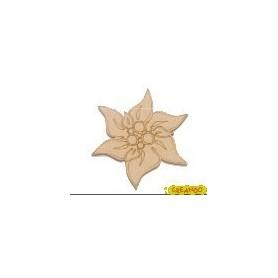 Silueta Flor de Pasua 4,2x4,6cm
