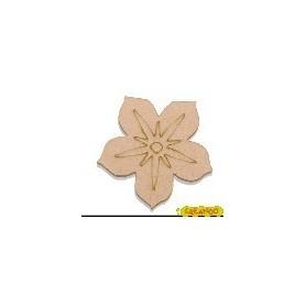 Silueta Flor 4,5x4,2cm