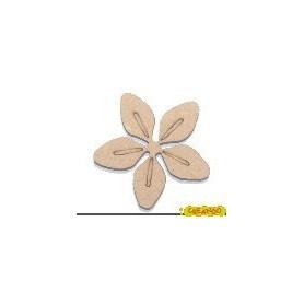 Silueta Flor 4,5x4,5cm