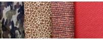 Telas de patchwork 100% algodón, un extenso surtido de estilos y marcas con el que podras crear desde funda de gafas, camisetas,