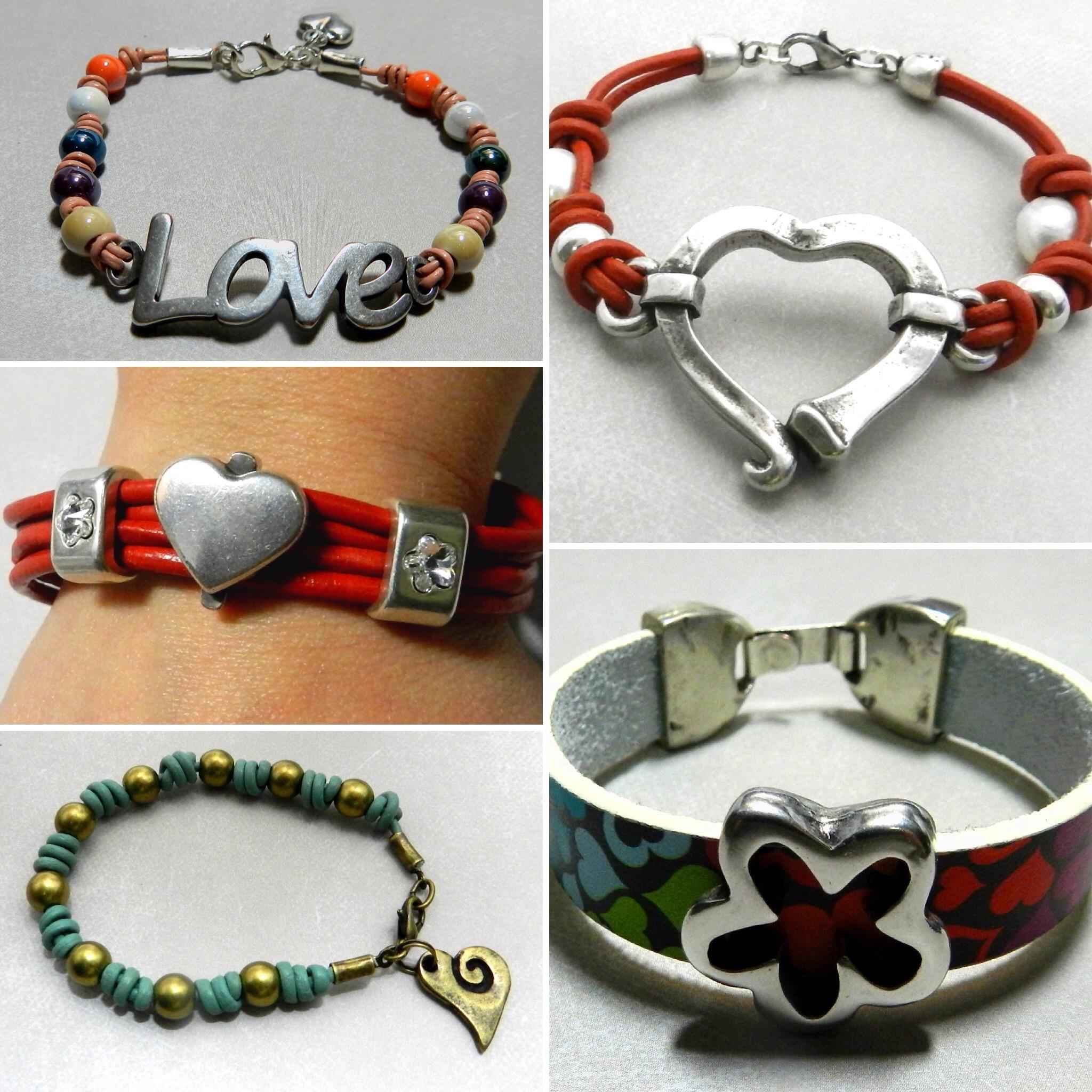 Ejemplos de creación de abalorios: pulseras